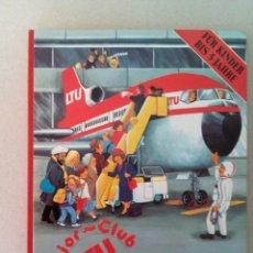 Coleccionismo: 1981.MANUAL ALEMAN INFANTIL DE LA COMPAÑIA LTU DE AVIACION.. Lote 130007144
