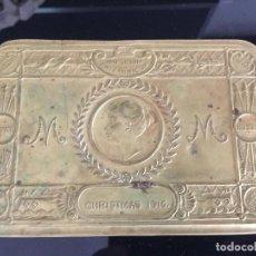 Coleccionismo: IMPERIUM BRITANNICUM CAJA DE TABACO CHRISTMAS 1914 , CAJA INGLESA , BOX TOBACCO. Lote 130396678