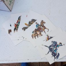Coleccionismo: CURIOSA COLECCIÓN DE POSTALES DE ANTIGUOS SOLDADOS. . Lote 130514634