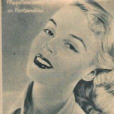 Coleccionismo: AÑO 1952 RECORTE PRENSA PUBLICIDAD MAQUILLAJE POLVO MAQUILLADOR DANAMASK COSMETICA. Lote 130557118