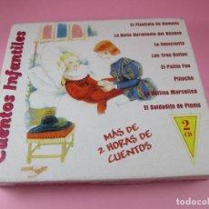 Coleccionismo: DOBE CD-CUENTOS INFANTILES-HELIX-NOVOSON-1999-PERFECTO ESTADO-VER FOTOS. Lote 130636418