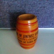 Coleccionismo: PALILLERO DE MADERA HIJOS DE JIMÉNEZ VARELA. Lote 130868116
