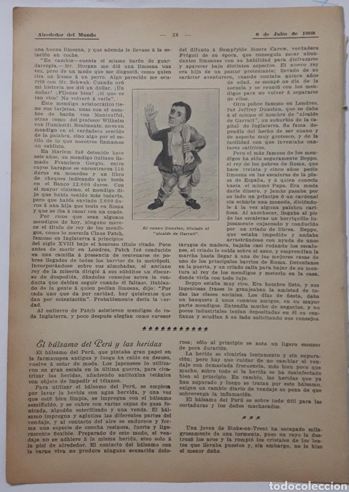 Coleccionismo: Mendigos famosos. 1908 - Foto 2 - 131134032