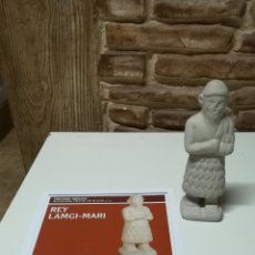 Coleccionismo: REPLICA ESTATUILLA EN CERAMICA DEL REY LAMGI - MARI. Lote 131369687