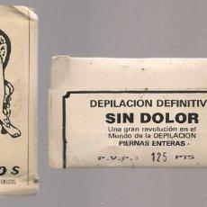 Coleccionismo: PHILOS. DEPILACIÓN DEFINITIVA SIN DOLOR. P.V.P 125 PTAS. AÑOS 50/60. (P/D23). Lote 131443806