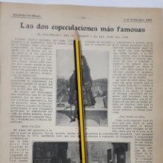 Coleccionismo - Las dos especulaciones más famosas. 1908 - 131462669