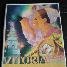 Coleccionismo: PROGRAMA FIESTAS VITORIA 1952.. Lote 131570150
