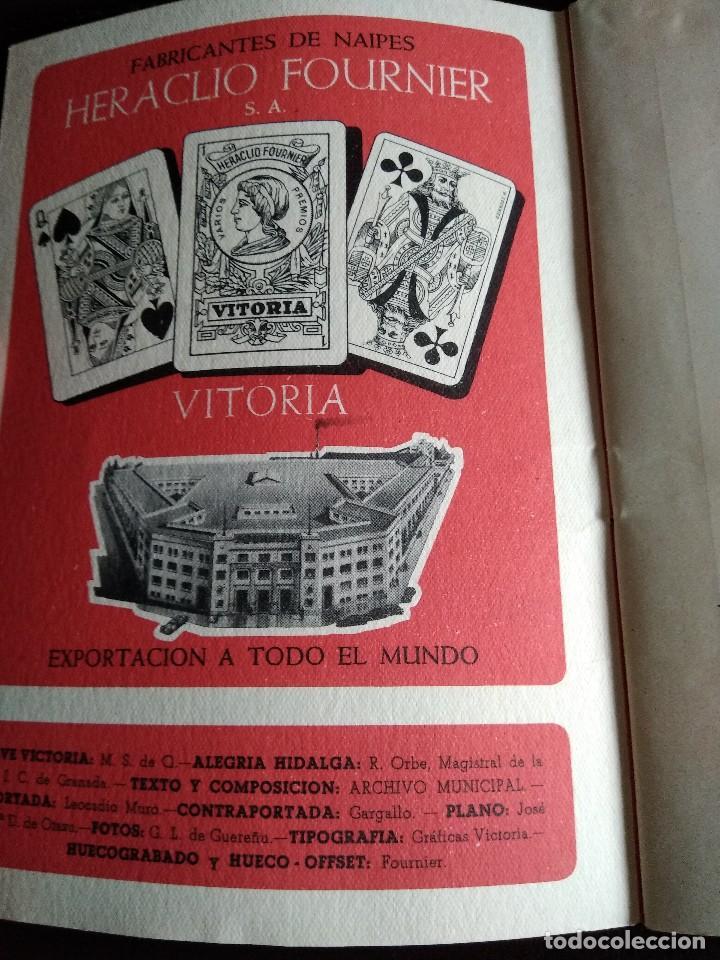 Coleccionismo: Programa fiestas Vitoria 1952. - Foto 3 - 131570150