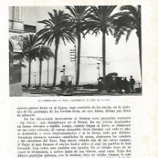 Coleccionismo: LAMINA 10439: PALMERAS DE VILASSAR DE MAR. Lote 130729749