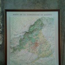 Colecionismo: MAPA MADRID RELIEVE. Lote 227809245