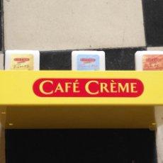 Coleccionismo: EXPOSITOR PARA CAFE CREME, HIERRO 26X20,5X4 CM. Lote 132281910