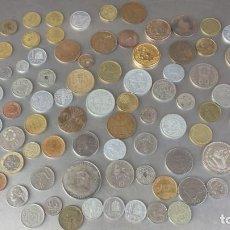 Coleccionismo: MONEDAS VARIADAS ANTIGUAS-95 PIEZAS. Lote 132319006