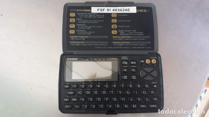 AGENDA ELECTRÓNICA-CASIO DIGITAL DIARY. SF-4600C. 64 KB (Coleccionismo - Varios)