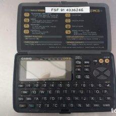 Coleccionismo: AGENDA ELECTRÓNICA-CASIO DIGITAL DIARY. SF-4600C. 64 KB. Lote 132401814