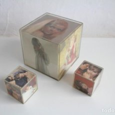 Coleccionismo: LOTE 3 FOTO CUBO / CUADRO MÁGICO. METACRILATO. NAYOVA. BARCELONA.. Lote 132603074