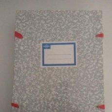 Coleccionismo: PAQUETE DE 10 CARPETAS DE CINTAS PARA LEGAJOS. Lote 132650438