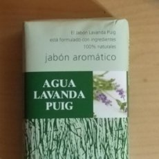 Coleccionismo: JABÓN TOCADOR AROMÁTICO AGUA LAVANDA PUIG - BARCELONA - SIN ABRIR. Lote 132678534