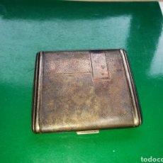 Coleccionismo: PRECIOSA PITILLERA ANTIGUA PLATEADA. Lote 132736543