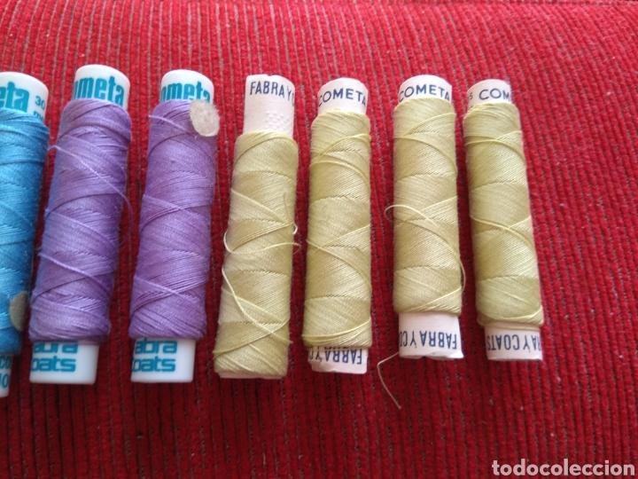 Coleccionismo: Lote de 10 Carretes de Hilo Cometa - Fabra y Coats - Foto 4 - 133094590