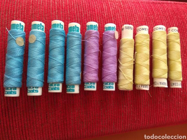 Coleccionismo: Lote de 10 Carretes de Hilo Cometa - Fabra y Coats - Foto 8 - 133094590