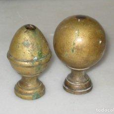 Coleccionismo: 2 PIEZAS DE BRONCE. Lote 179061220