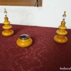 Coleccionismo: JUEGO DE TOCADOR ANTIGUO. Lote 133641054