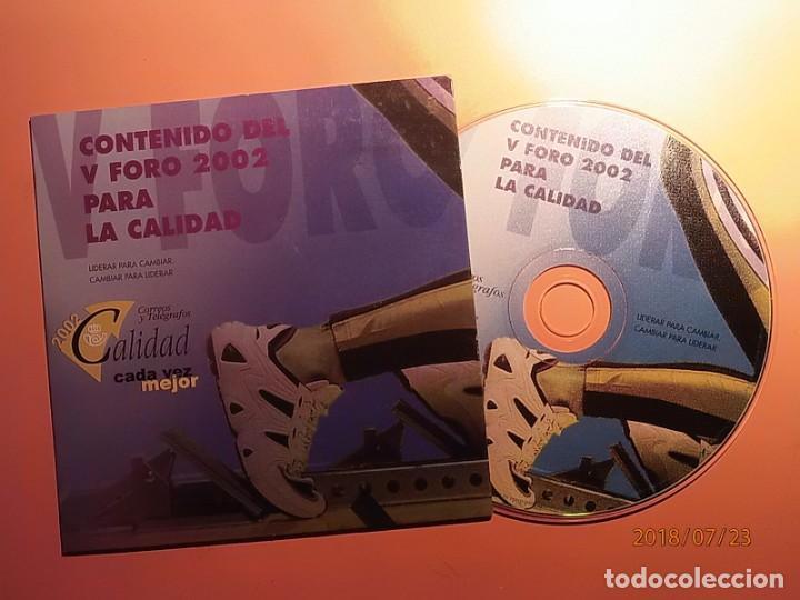 CORREOS - CD-ROM - CALIDAD 2002. (Coleccionismo - Varios)
