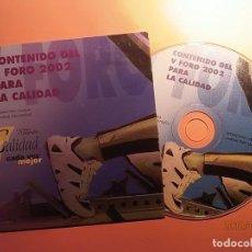 Coleccionismo: CORREOS - CD-ROM - CALIDAD 2002.. Lote 133759710