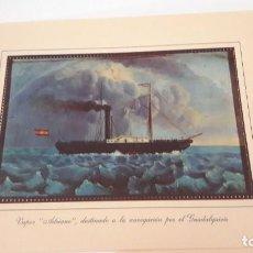 Coleccionismo: LAMINAS DE BARCOS FLUVIALES ANTIGUOS - AÑOS 60-70. Lote 133834134