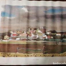 Coleccionismo: LÁMINA ANTIGUA ALTAFULLA.TARRAGONA - REPRODUCCIÓN DE LLOVERAS - 50 X 38 CM. AÑOS 70.. Lote 133836526