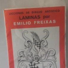 Coleccionismo: LAMINAS DE EMILIO FREIXA DEL 1 AL 12, CON SU FUNDA. Lote 133908494