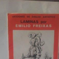 Coleccionismo: LAMINAS DE EMILIO FREIXA DEL 1 AL 8, CON SU FUNDA. Lote 133908706