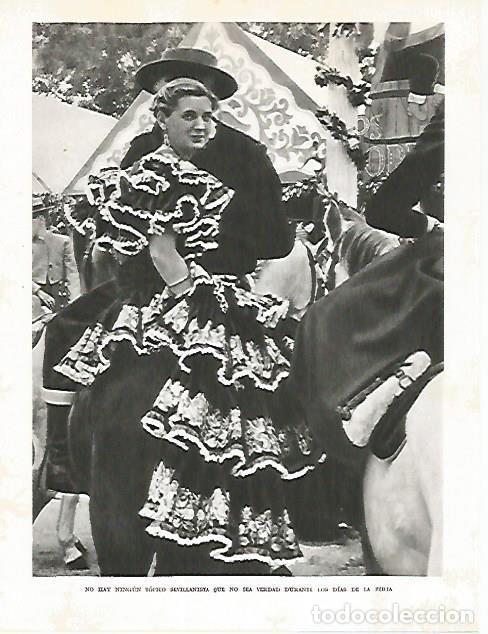 LAMINA 10744: FERIA DE ABRIL DE SEVILLA (Coleccionismo - Laminas, Programas y Otros Documentos)