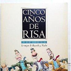 Coleccionismo: 25 LÁMINAS DE CINCO AÑOS DE RISA DE 1990 A 1995. Lote 134387390