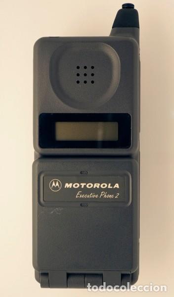 MOTOROLA EXECUTIVE PHONE 2.TELÉFONO MÓVIL RETRO, DE COLECCIÓN. (Coleccionismo - Varios)