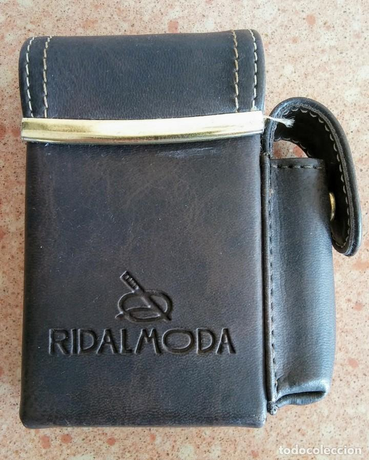 PITILLERA DE PIEL VINTAGE RIDALMODA (Coleccionismo - Objetos para Fumar - Otros)