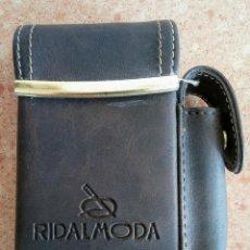 Coleccionismo: PITILLERA DE PIEL VINTAGE RIDALMODA. Lote 134846978