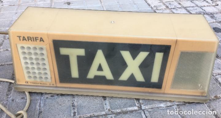 Coleccionismo: Taxi Señal luminosa - Foto 3 - 134975626