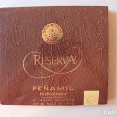 Coleccionismo: CAJA DE PUROS PEÑAMIL RESERVA, PRECINTADA. Lote 134998522