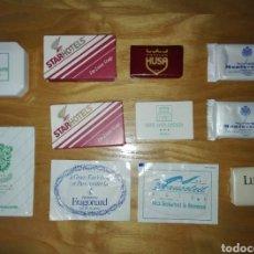 Coleccionismo: LOTE DE 11 JABONES DE HOTELES. Lote 135174138