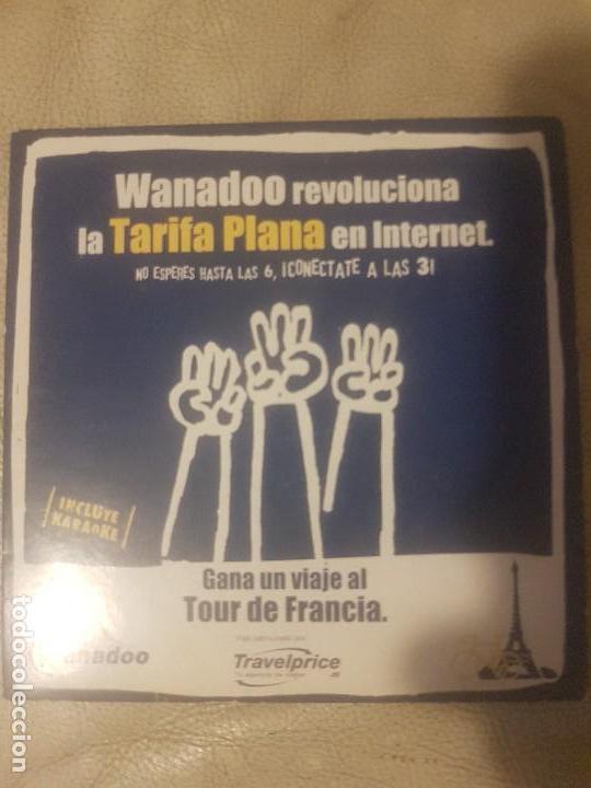 Software vintage original. Conexión a internet de Wanadoo. CD-ROM., usado segunda mano