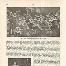 Coleccionismo: LAMINA ESPASA 30143: FIESTA DE LOS ARCABUCEROS POR VAN DER HELST. Lote 135938582