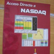 Coleccionismo: ACCESO DIRECTO A NASDAQ - BOLSAGEST.COM. Lote 136312534