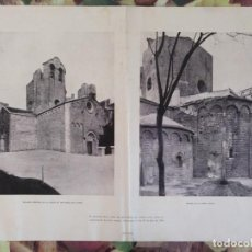 Coleccionismo: LAMINA PARROQUIA SAN PABLO DEL CAMPO BARCELONA DONATIVO OBRAS RESTAURACION. Lote 136459646