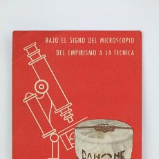Coleccionismo: ANTIGUA TARJETA / HOJITA PUBLICITARIA - DANONE - DANONE OS OFRECE EL VERDADERO YOGHOURT. Lote 136543714