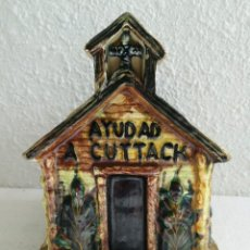Coleccionismo - Hucha Domund, AYUDAD A CUTTAK - 136590578