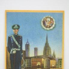 Coleccionismo: TARJETA / HOJITA DE FELICITACIÓN NAVIDEÑA - EL VIGILANTE, FELICES PASCUAS. Lote 136595584