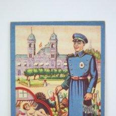 Coleccionismo: TARJETA / HOJITA DE FELICITACIÓN NAVIDEÑA - EL VIGILANTE, FELICES PASCUAS - EDI. MORAGÓN. Lote 136595626