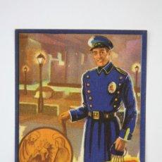 Coleccionismo: TARJETA / HOJITA DE FELICITACIÓN NAVIDEÑA - EL VIGILANTE, FELICES PASCUAS - EDI. MORAGÓN. Lote 136595717