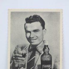 Coleccionismo: TARJETA PUBLICITARIA - ST RAPHAEL, QUINQUINA - JEAN DOTTO / LA VUELTA 1955 - CICLISMO - TARRAGONA. Lote 136595850
